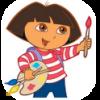 تحميل لعبة تلوين دورا Dora Coloring لاندرويد ، تلوين دورا