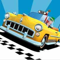 تحميل لعبة التاكسى المجنون Crazy Taxi City Rush لعبة سيارات للاندرويد